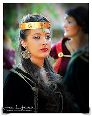 """""""In the Queens Court"""" (""""SnapDecisions"""" photography) Tags: oria puglia italy portrait festival nikon d700 hirschfeld"""