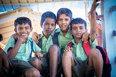 Growin up. (cut3kholstudios) Tags: street school friends station kids children lens photography sony railway forever kit chennai 1650mm a6000 cut3kholstudios