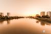 Voir la ville en rose (photosenvrac) Tags: rose paysage loire nantes ville immeuble fleuve ponttabarly thierryduchamp