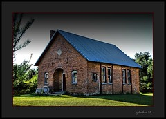 Built in 1891 (the Gallopping Geezer 3.5 million + views....) Tags: old school building abandoned mi rural canon countryside decay michigan country structure faded worn weathered tamron backroads decayed smalltown geezer corel fostoria 6d 28300 2015 oneroomschool oneroom