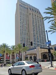 Downtown San Diego 9-5-15 (49) (Photo Nut 2011) Tags: sandiego california downtown hyatt harbordrive volkswagen vw