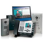 業務用システムIPネットワーク対応インターホンの写真