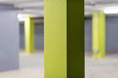 Coloured Basement (SylvainMestre) Tags: grenoble fr