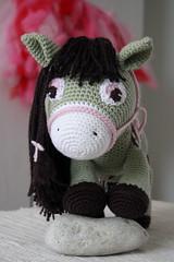 Brita the Pony - crochet amigurumi toy (lilleliis) Tags: horse wool girl animals toy stuffed handmade patterns crochet yarn softies pony amigurumi