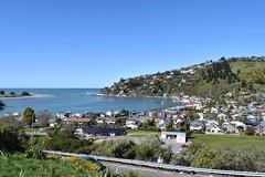 Moncks Bay (stephen trinder) Tags: blue sea newzealand christchurch sky hot water landscape bay redcliffs nz l kiwi moncksbay christchurchnewzealand stephentrinder stephentrinderphotography