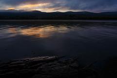 Mount Beacon Dawn (pidalaphoto) Tags: autumn mist newyork mountains fall rock fog clouds sunrise river foggy hudsonriver hudsonvalley beaconny denningspoint hudsonhighlands