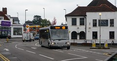 Ashtead, October 2015 (bobsmithgl100) Tags: bus surrey solo e7 svo hrr ashtead thestreet optare qualityline yn53 eb07 epsombuses epsomcoaches route408 op17 yn53svo e7hrr