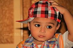 Bache To Ache Hote Hain (Fotografia The ShoAib AnsAri) Tags: pakistan baby cute cap ansari mashaallah zoraiz beautyofpakistan locallylahore