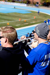 Homecoming Football Game 2015 (Luther College _ Photo Bureau) Tags: hall football athletic president carlson fame band miller homecoming cheerleading alumni pep madie