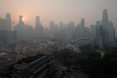 Haze 29102015 04 (CleaningAsia.com) Tags: indonesia thailand haze singapore philippines vietnam malaysia temperature climatechange heatstress