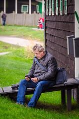 _DML1522 (duncen.mcleod) Tags: windmill ren marken zaanseschans molens paardvanmarken oudehuisjes
