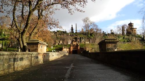 La necropole de Glasgow, Écosse