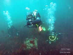 Asturiaga Underwater (YellowSingle 单黄) Tags: asturiaga underwater fontarrabie pays basque scuba diving gopro plongée compas