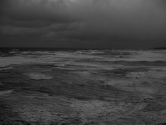 heavy wind (murozo) Tags: monochrome sea wave winter wind nikaho akita japan cloud 海 波 雲 冬 風 にかほ 秋田 日本
