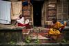 கொல்கத்தா (Kals Pics) Tags: kolkata westbengal india bagbazar cwc chennaiweekendclickers people roi rootsofindia architecture ancientcity history baghbazar home house chat talk women culture saree sari cityofjoy plants travel streetlife calcutta life culturalindia incredibleindia historiccity kalspics