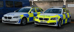 Cambridgeshire Police Old & New BMW 530D Traffic Cars - AE62 DHD & AE16 AGZ (Chris' 999 Pics) Tags: cambridgeshire police bmw 530d traffic car rpu roads policing unit brand new old marked force hq law enforcement 999 112 crime criminal prevention anpr automatic number plate recognition ae66dhd ae16agz
