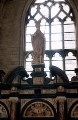 Saint Omer, Nord-Pas-de-Calais, Cathédrale Notre-Dame, chapel saint Nicolas, entry, detail