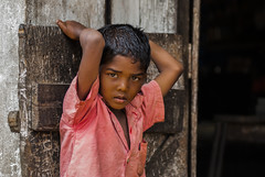 Boy living in an abandoned Tea estate