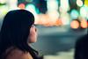 Space Out (Jon Siegel) Tags: nikon d810 85mm 14 nikon85mmf14 woman girl pretty bokeh night evening city urban people candid shinjuku tokyo japan japanese