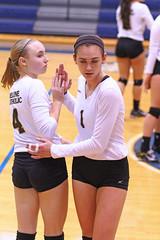 IMG_8031 (SJH Foto) Tags: girls volleyball high school york delone catholic team teen teenager substitution sub rotation