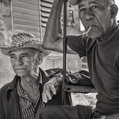 proud (Gerard Koopen) Tags: cuba trinidad city bw blackandwhite straatfotografie streetphotography straat street portret portrait people man men sigarette smoking eyecontact posing fuji fujifilm xpro1 35mm 2016 gerardkoopen
