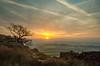 Golden sunrise! (andythomas390) Tags: sunrise dawn golden clouds tree mist nikon d7000 18200mm leelittlestopper le
