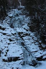 Frozen Giessbach Waterfall