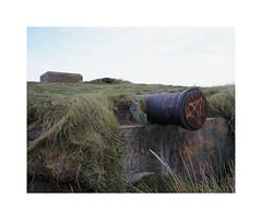 atlantik (ha*voc) Tags: mamiya7ii 65mm rangefinder film 6x7 120 mediumformat fujiprovia400x wijkaanzee historic sea remnant