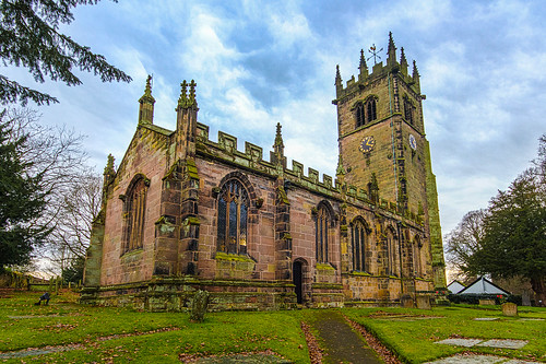 St. James' Church, Gawsworth