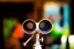 Four Eyes (Thomas Hawk) Tags: america idaho ketchum scottevest scottevesthq sunvalley techondeck usa unitedstates unitedstatesofamerica binoculars fav10