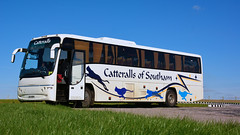 Catteralls Volvo (Jungle Jack Movements) Tags: tour tourist bus coach southam catterall catteralls stonehenge england uk gb great britain united kingdom british transport service carry take journey convey move travel passenger route stop ring bell oyster card city suburb trip conveyance carriage vehicle depot driver trek seat ticket go hail mobile pass london red ahead amesbury neolithic ancestors prehistoric bronze age 5000 2500 bc world heritage site burial mounds bluestone