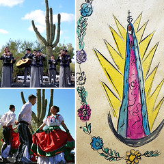 Our annual La Fiesta de Guadalupe will start soon! (DeGrazia Gallery in the Sun) Tags: nationalhistoricdistrict degrazia artist ettore ted galleryinthesun artgallery gallery adobe architecture tucson arizona az catalinas desert missioninthesun mission lafiestadeguadalupe fiesta guadalupe patron saint mexico yaqui deerdancers mariachis music folkloricodancers