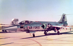 63-13243 Lockheed F-104G Starfighter cn 683-2026 West German Air Force George AFB 22Oct78 (kerrydavidtaylor) Tags: georgeairforcebase california victorvilleairport southerncalifornialogisticsairport vcv kvcv f104 usaf usairforce