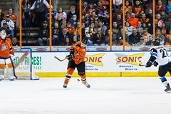 "Missouri Mavericks vs. Wichita Thunder, February 4, 2017, Silverstein Eye Centers Arena, Independence, Missouri.  Photo: John Howe / Howe Creative Photography • <a style=""font-size:0.8em;"" href=""http://www.flickr.com/photos/134016632@N02/31909991874/"" target=""_blank"">View on Flickr</a>"