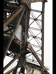 Up From Out (bMi2fotografx) Tags: art saintjohns river eastcoast railroad track double downtown bridge trunnion strauss bascule jacksonville travel florida