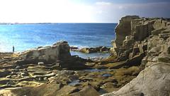 Abandoned Quarry (San Francisco Gal) Tags: quarry côtedegranitrose brittany rock granite ocean atlantic fisherman france manche