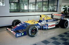 Nigel Mansell's 1991 Williams-Renault FW14 - Williams Grand Prix Collection, October 1996 (Dave_Johnson) Tags: camel canon bull nigelmansell mansell fw14 fw14b williams renault frankwilliams williamsf1 williamsgrandprixengineering williamsheritagecollection williamsgrandprixcollection formula1 formulaone f1 grandprix museum collection grove wantage car racingcar automobile red5 redfive
