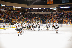 "Missouri Mavericks vs. Quad City Mallards, December 31, 2016, Silverstein Eye Centers Arena, Independence, Missouri.  Photo: John Howe / Howe Creative Photography • <a style=""font-size:0.8em;"" href=""http://www.flickr.com/photos/134016632@N02/31972650491/"" target=""_blank"">View on Flickr</a>"