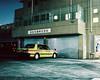 Nakano Shimbashi (lukepownall) Tags: tokyo night longexposure film mamiya7 mediumformat cityscape nakano nakanoshimbashi 東京 taxi japan portra160