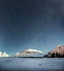 Moonlit (Traylor Photography) Tags: alaska night milkyway halfmoon stars mountains moon panorama snow softlight begichboggsvisitorcenter moonlight clouds lake portage winter anchorage glacier cold stack iceberg frozen unitedstates us