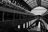 The Trainstation of Antwerp (Hans Dethmers) Tags: belgië antwerpen antwerp train station centralstation centraalstation trein geometrie architectuur architecture blackandwhite zwartwit monochrome fuji hansdethmers