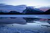 Vermillion lakes (Canon Queen Rocks (1,230,000 + views)) Tags: vermillionlakes lake landscape landscapes snow ice mountains mountainpeak snowcapped clouds sunrise dawn reflections frozen banff banffnationalpark canada outdoors