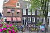 Amsterdam (Colby Stopa) Tags: amsterdam netherlands travel layover europe colbystopa nikon nikond7000 street bicycle bicycles architecture cafe