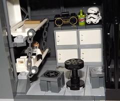DSCF2276 (Nilbog Bricks) Tags: star wars lego moc minifigures stormtrooper base barracks