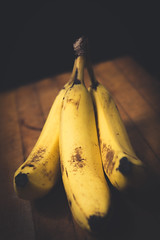 I Was Bored Today (Kevin VanEmburgh Photography) Tags: fruit bananas fresh ripe health healthy nikon kevinvanemburghphotography yellow colorgrading