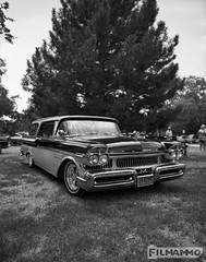 Mercury Wagon (FilmAmmo) Tags: paulhargett filmammo salinaks pentax6x7 mediumformat 120 ilfordpanf carshow