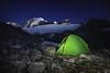 Glacier d'Argentière (akcfoto) Tags: france chamonix glacier tente campingsauvage chamonixmontblanc nuit montagne alpes