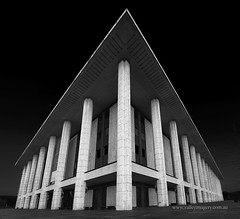 National Library (Valley Imagery) Tags: act canberra australia a77ii sigma 1020 black white