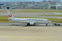 Japan TransOcean Air (JTA)  Boeing 737-446 JA8998 (EK056) Tags: japan transocean air jta boeing 737446 ja8998 fukuoka airport