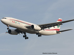 MEA-Middle East Airlines. Airbus A330-243. (Jacques PANAS) Tags: meamiddle east airlines airbus a330243 odmec msn995